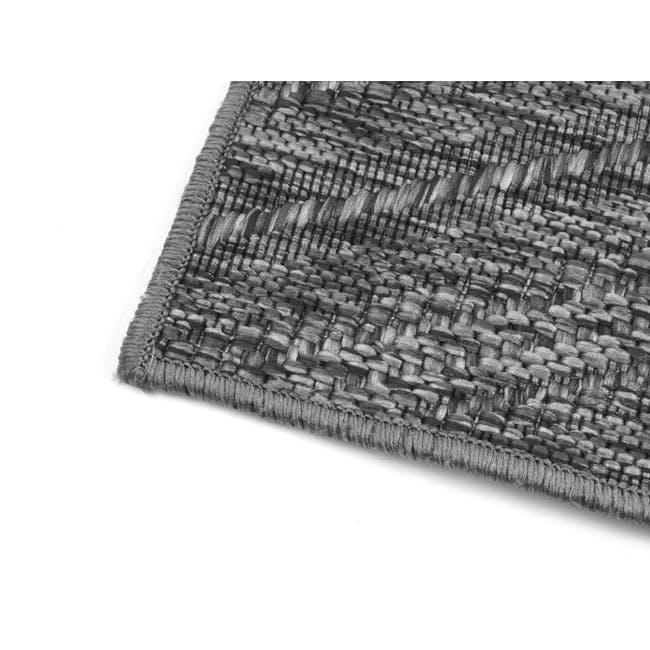 Timber Flatwoven Rug 2.3m x 1.6m - Dark Chevon - 3