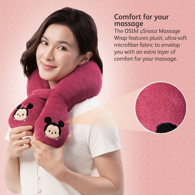 OSIM Tsum Tsum uSnooz Massage Wrap - Mickey & Minnie - 1