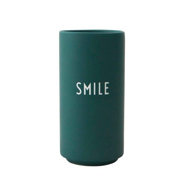 Favourite vase - Dark Green (Smile) - 0