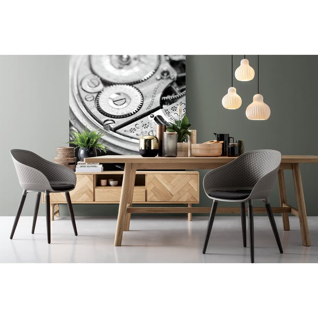 Cody Dining Armchair - Taupe - 2