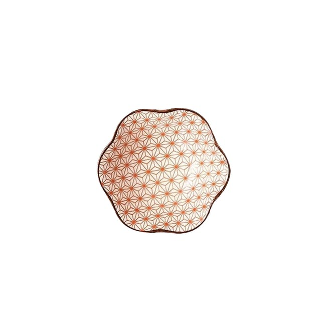 Table Matters Starry Red Saucer (2 Sizes) - 0