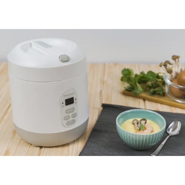 Vitantonio Mini Rice Cooker - Baby Blue - 2