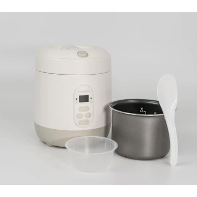 Vitantonio Mini Rice Cooker - Baby Blue - 3