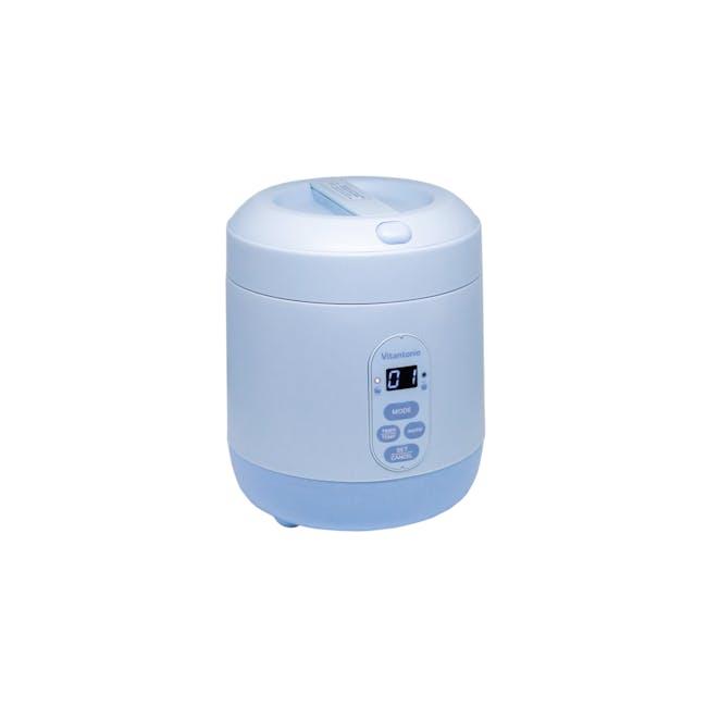 Vitantonio Mini Rice Cooker - Baby Blue - 0