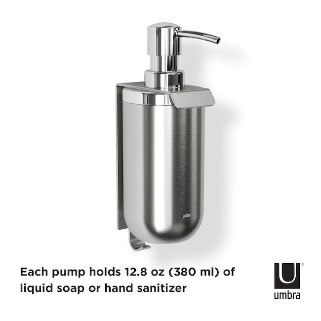Junip Wall Mount Soap Dispenser - Chrome - 6