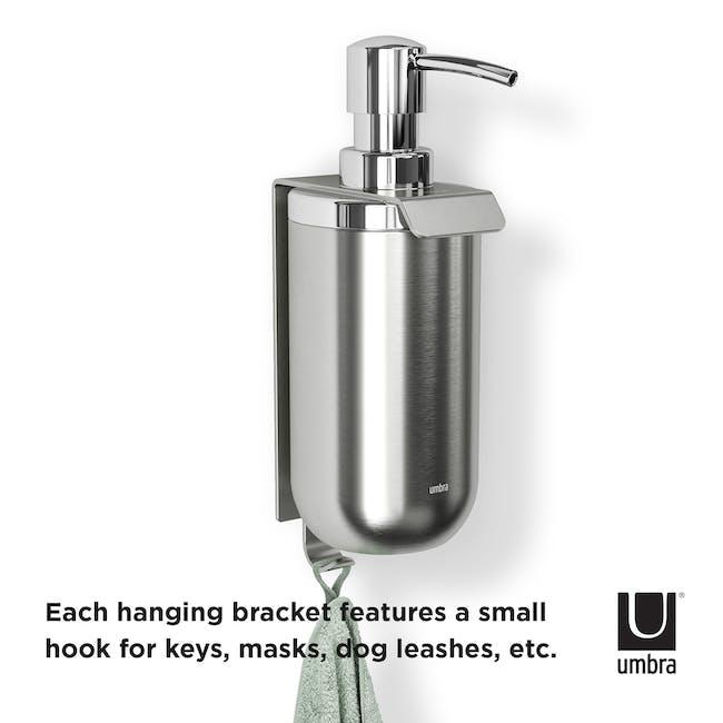 Junip Wall Mount Soap Dispenser - Chrome - 4