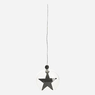 Hanging Star Ornament - Black - Image 2