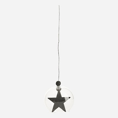 Hanging Star Ornament - Black - Image 2