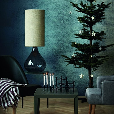 Cosy Christmas Tree Stand - Black