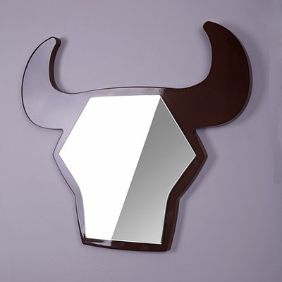 Bull Shaped Mirror - XI - Image 2