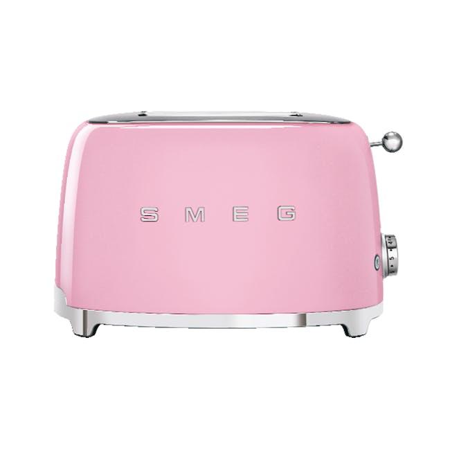 Smeg 2-Slice Toaster - Pink - 0