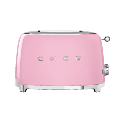 Smeg 2-Slice Toaster - Pink
