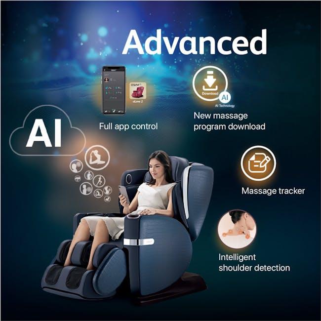 OSIM uLove 2 Massage Chair - Brown - 2