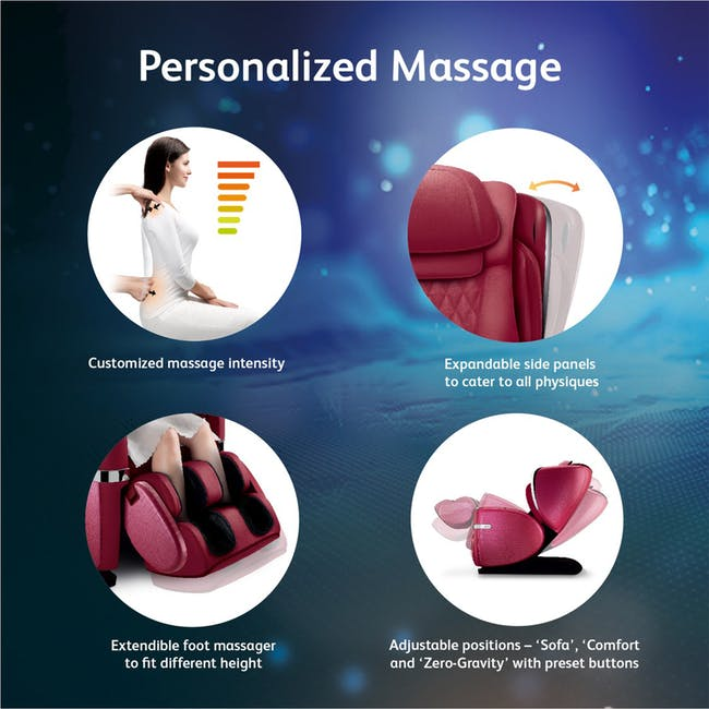 OSIM uLove 2 Massage Chair - Brown - 6
