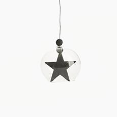 Hanging Star Ornament - Black