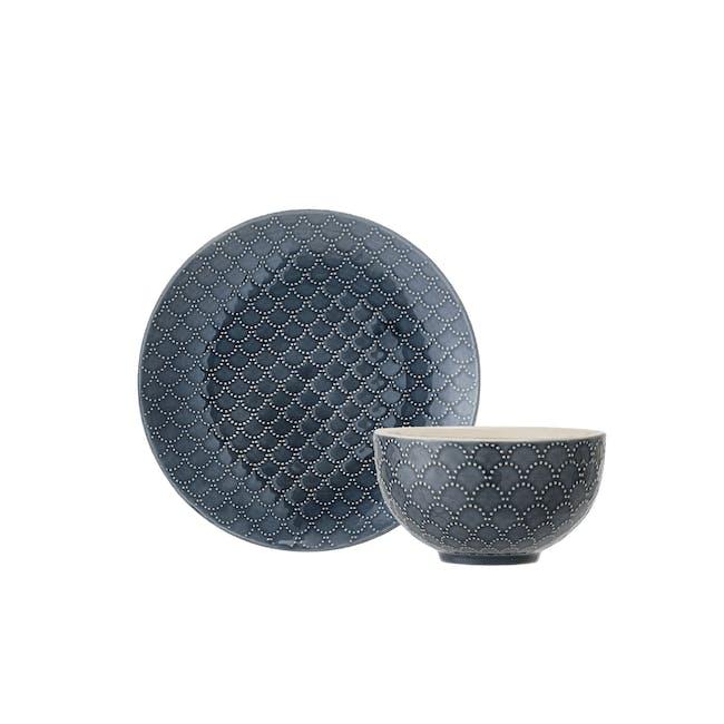 Nari Small Plate and Bowl Set - 0