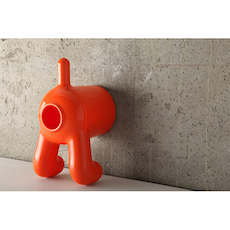 (As-Is) D Dog Tissue Container - Orange - 1