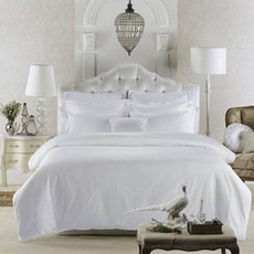 Single / Super Single Luxury 5-Pc Bedding Set - Pure White