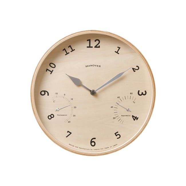 Baum Wall Clock II - 0