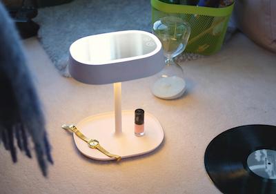 LED Light Vanity Mirror - Cream White - Image 2