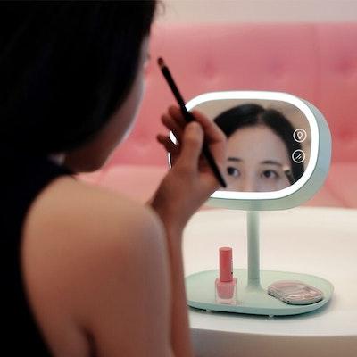 LED Light Vanity Mirror - Mint - Image 2