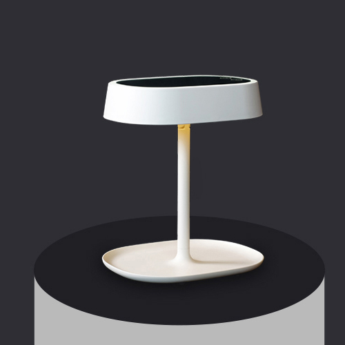 mirror lamp. led light vanity mirror - cream white lamp b