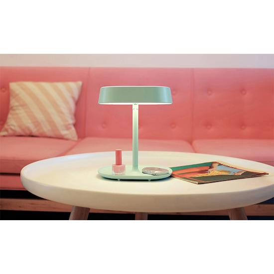 1688 - LED Light Vanity Mirror - Pink