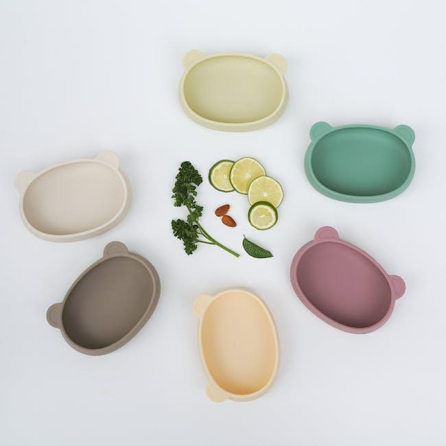MODU'I Bear Snack Bowl 320ml - Pink - 7