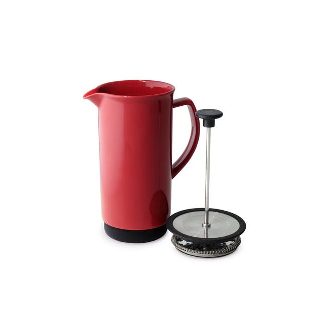 Forlife Café Style Coffee Press - Carrot - 2