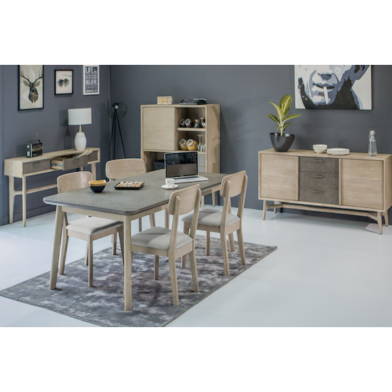 Hendrix by HipVan - (As-is) Hendrix Dining Table 1.8m - 1