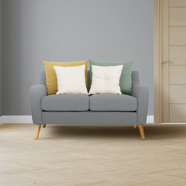 Evan 2 Seater Sofa - Slate - 1