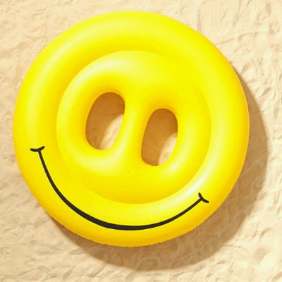Smiley Face Island (Free Air Pump) - Image 1
