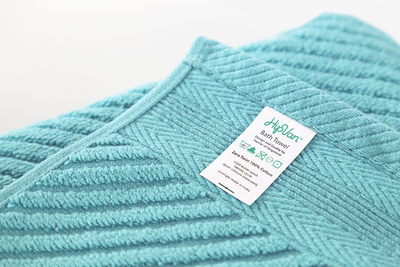 EVERYDAY Bath Towel - Teal Green - Image 2