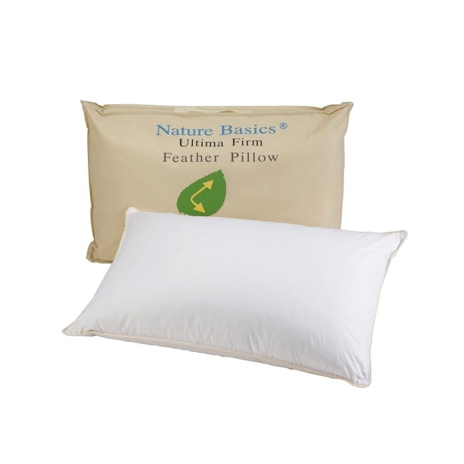 Nature Basics Ultima Firm Feather Pillow - 0