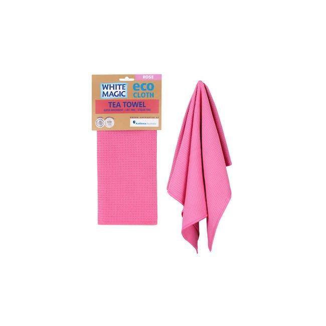 Tea Towel Single - Rose - 1
