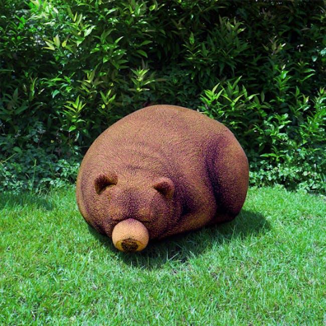 The Sleeping Grizzly Cub Bean Bag - 0