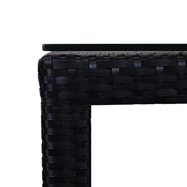 Midas 2 Chair Bar Set - White Cushion - 4