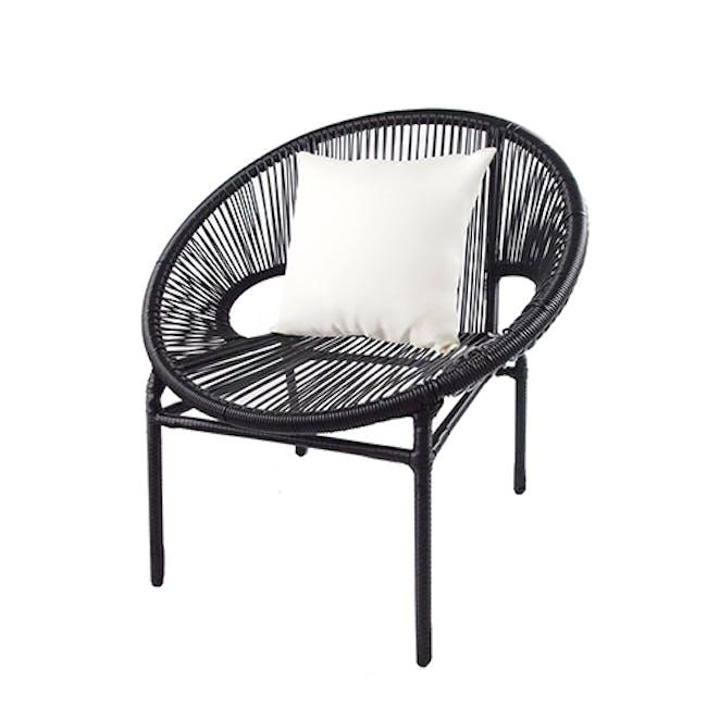 Shelton Sofa Set with White Pillow - 6