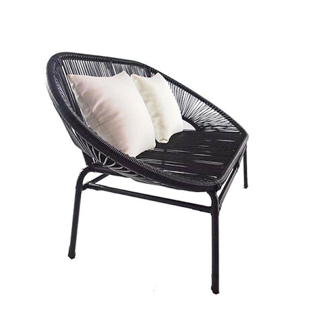 Shelton Sofa Set with White Pillow - 13