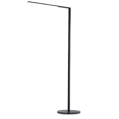 LED Lady7 Floor Lamp - Metallic Black with Free 10000mAh Power Bank