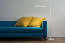 LED Lady7 Floor Lamp - Matte Red