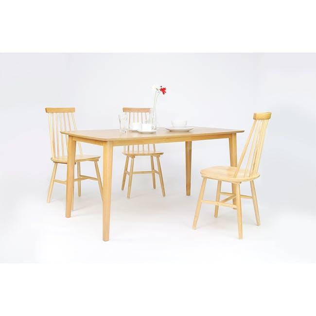 Koa Dining Table 1.2m - Oak - 5