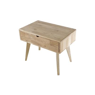 Ruri Ash Drawer Side Table - Image 1