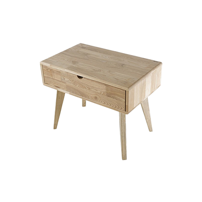 Ruri Ash Drawer Side Table