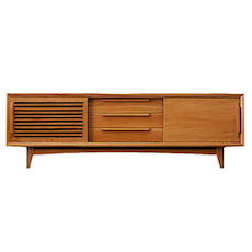Guri Oak TV Console