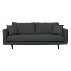 Los Angeles 3 Seater Sofa - Dark Grey