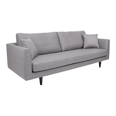 Los Angeles 3 Seater Sofa - Grey