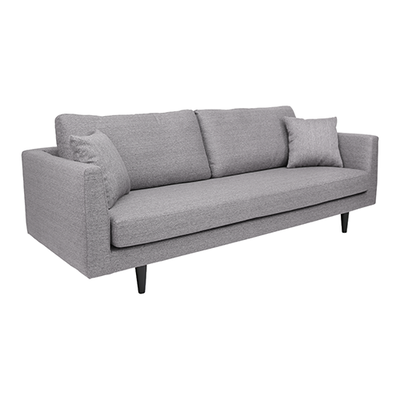 Colin 3 Seater Sofa - Grey - Image 2