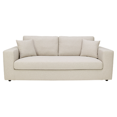 Santorini 3 Seater Sofa - Cream