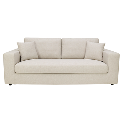 Jenny 3 Seater Sofa - Cream - Image 1